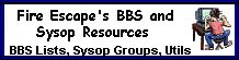 Fire Escape's BBS and Sysop Resources