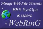 BBS SysOps and Users WebRing